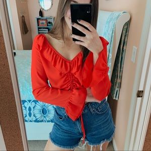 Princess Polly Cropped Blouse